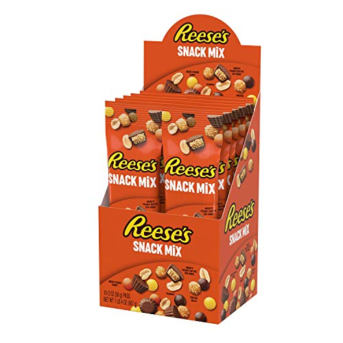 Reeses Snack Mix Tube - Mischverpackung, 10 Stück (10 x 57 g)