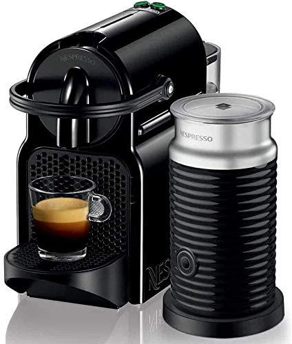 Nespresso Inissia Inissia & Aeroccino EN80.BAE Macchina per Caffè espresso, a capsule, 1500 W, 0.7 litri, Plastica, Nero (Black)