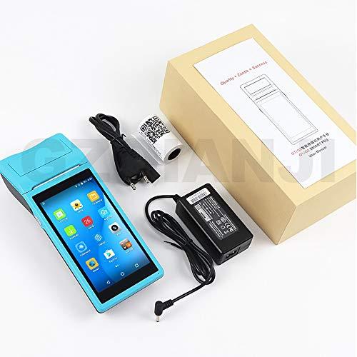 WENHU Dispositivo inalámbrico PDA cammera androide Data Collector portátil TPV Ordenador PDA PDA Recibos térmica 58mm Blurtooth Impresora