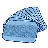 10 pcs microfibre tampon de vadrouille aspirateurs chiffon de nettoyage humide chiffon pour Robot balayeuse de sol 308 t/380/321/320/4200/5200C/5200/4205