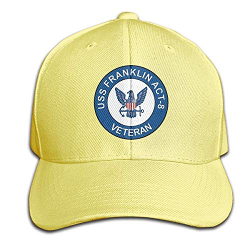 Yuanmeiju USS Franklin Act-8 Veteran Men's Gorra