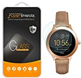 (2 Pack) Supershieldz for Fossil Q Venture Gen 3 Smartwatch Tempered Glass Screen Protecto...