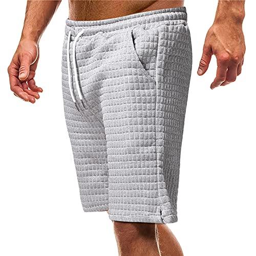 Nuevo 2021 Pantalones cortos Hombre Verano Casual Moda Deporte Running Pants Jogging Original Color sólido Cortos Pantalon Fitness Gym Suelto Ropa de hombre Talla grande Pantalones de playa shorts