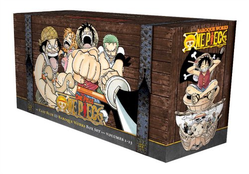 One Piece Box Set Volume 1 [Idioma Inglés]: Volumes 1-23 with Premium (One Piece Box Sets)
