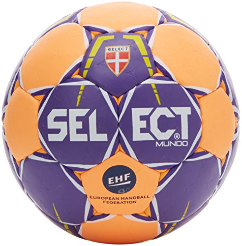 Select Mundo - Balón de Balonmano, Color türkis/Orange, tamaño 0