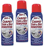 LIFTER-1 Carpet Stain & Spot Remover 3 -Pack for Tough Stains Such as Oil, Grease, Cola, Wine & Pet Stains