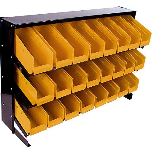 Stalwart 24 bandejas de almacenamiento para cubos de basura