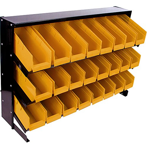 Stalwart 24 Bins Tool Storage Rack, (Model: 75-A0003)