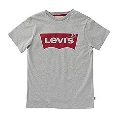 Levi's Camiseta Mangas Batwing para Niños Gris