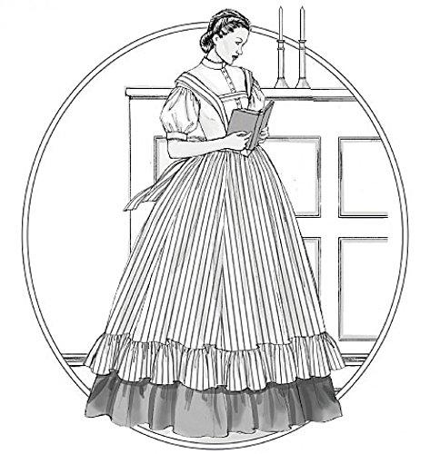 McCall 's Cosplay Damen Schnittmuster 2057historischen Bluse, Rock & Latzschürze