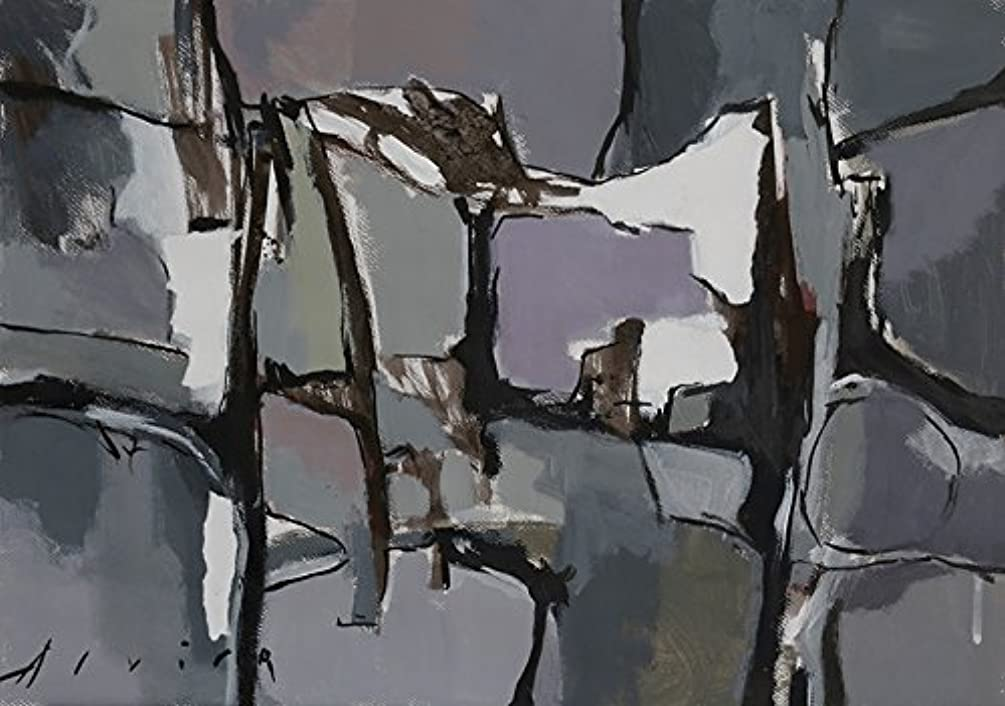 Gray Composition I (24x36 in.)