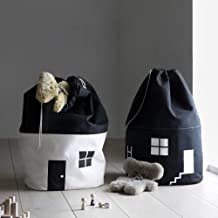 NO BRAND FYTVHVB Borsa per la conservazione Della decorazione Della Stanza Decorazione per la casa Della tasca del fascio del giocattolo dei Bambini