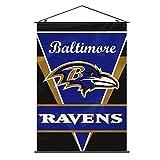 """Fremont Die NFL Wandbanner, 71 x 102 cm, Herren,Unisex-Erwachsene, Damen, Baltimore Ravens, 28"""" x 40"""""""