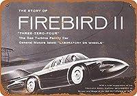 GM Firebird IIコンセプト メタルポスター壁画ショップ看板ショップ看板表示板金属板ブリキ看板情報防水装飾レストラン日本食料品店カフェ旅行用品誕生日新年クリスマスパーティーギフト