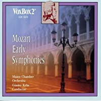MOZART/ EARLY SYMPHONIES