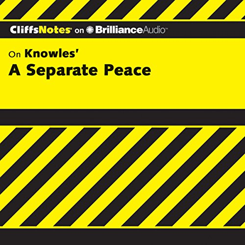 A Separate Peace: CliffsNotes audiobook cover art