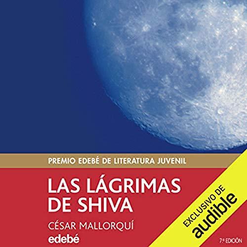 Diseño de la portada del título Las Lagrimas de Shiva