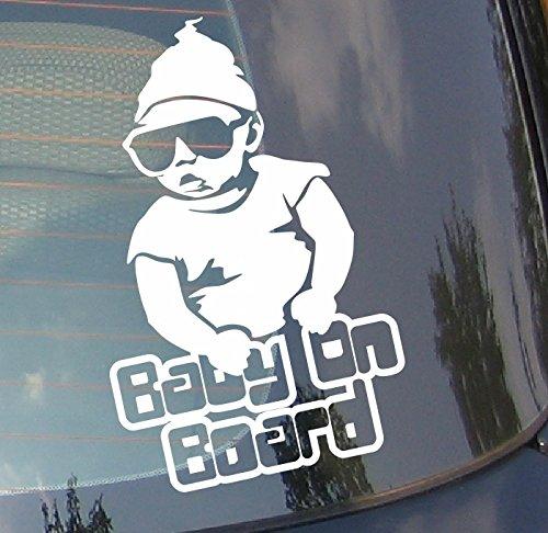 Baby On Board voiture Drift pare-chocs fenêtre Funny en vinyle Van pour ordinateur portable Love Heart Decor Home Live Kids Funny autocollant mural en stickers pour moto