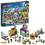 LEGO-City L'ouverture du magasin de donuts Enfant de 6 Ans et Plus, Jouet de Construction, 790 Pièces 60233