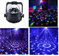 Stage Disco Ball Lights Wonsung RGBW multi-colour LED strobe light Party lights for birthday party,Pub,Stage,Wedding,Christmas,New Year Celebration