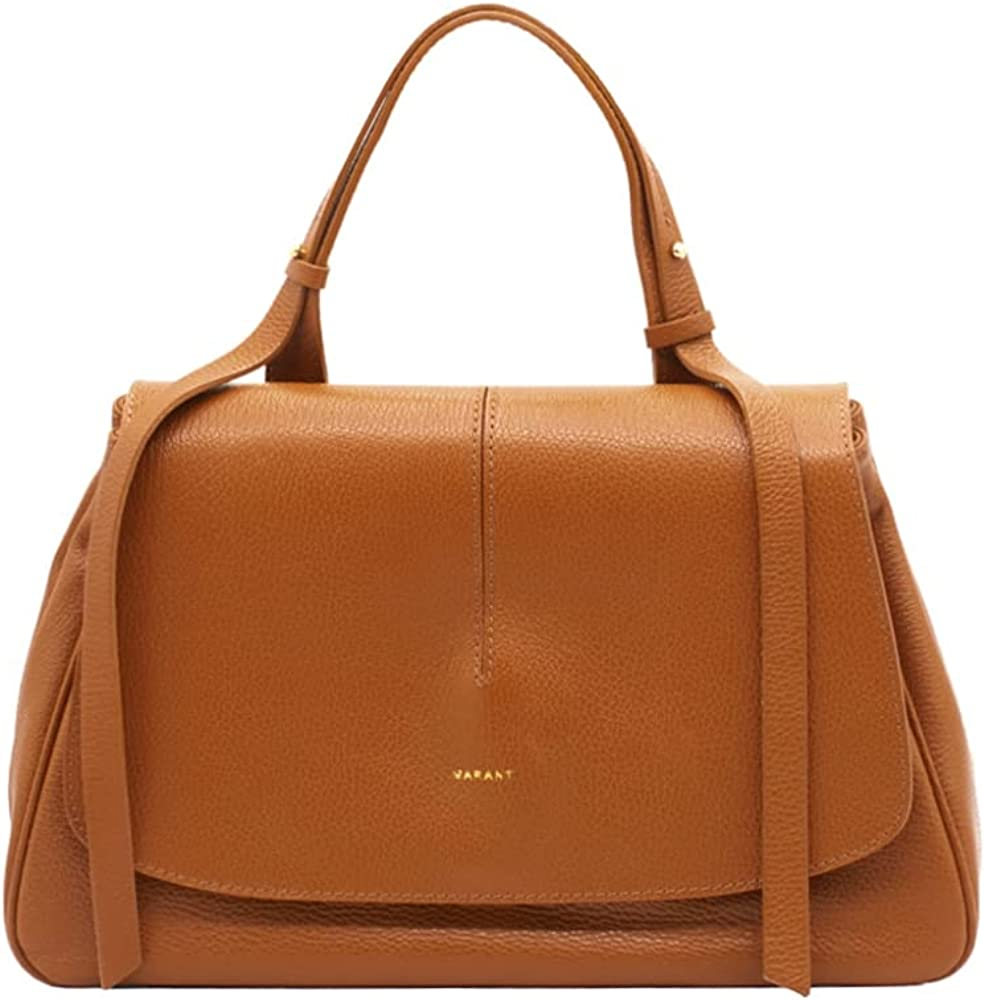 Marant sofia borsa da donna a mano/tracolla in vera pelle marrone