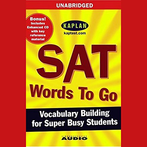 SAT Words to Go audiobook cover art