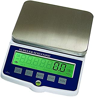 Schuler Scientific SSP-1502 P Series Top Loading Balance with 0.05g Readability and 1500g Capacity