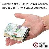 小さい財布 abrAsus × SHO KURASHINA ベージュ