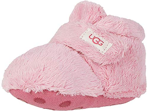 UGG baby girls Bixbee Ankle Boot, Bubblegum, 4-5 Infant US