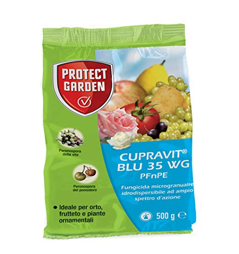Bayer fungicida rameico cupravit blu 35 wg 500 grammi verderame