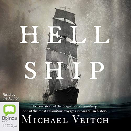 Hell Ship audiobook cover art