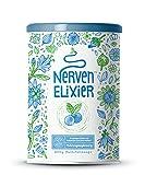 Nerven-Elixier - Pflanzliche Wirkstoffe für den Abend - Fruchtige Mischung aus Aminosäuren und Pflanzenextrakten - 400 Gramm Pulver