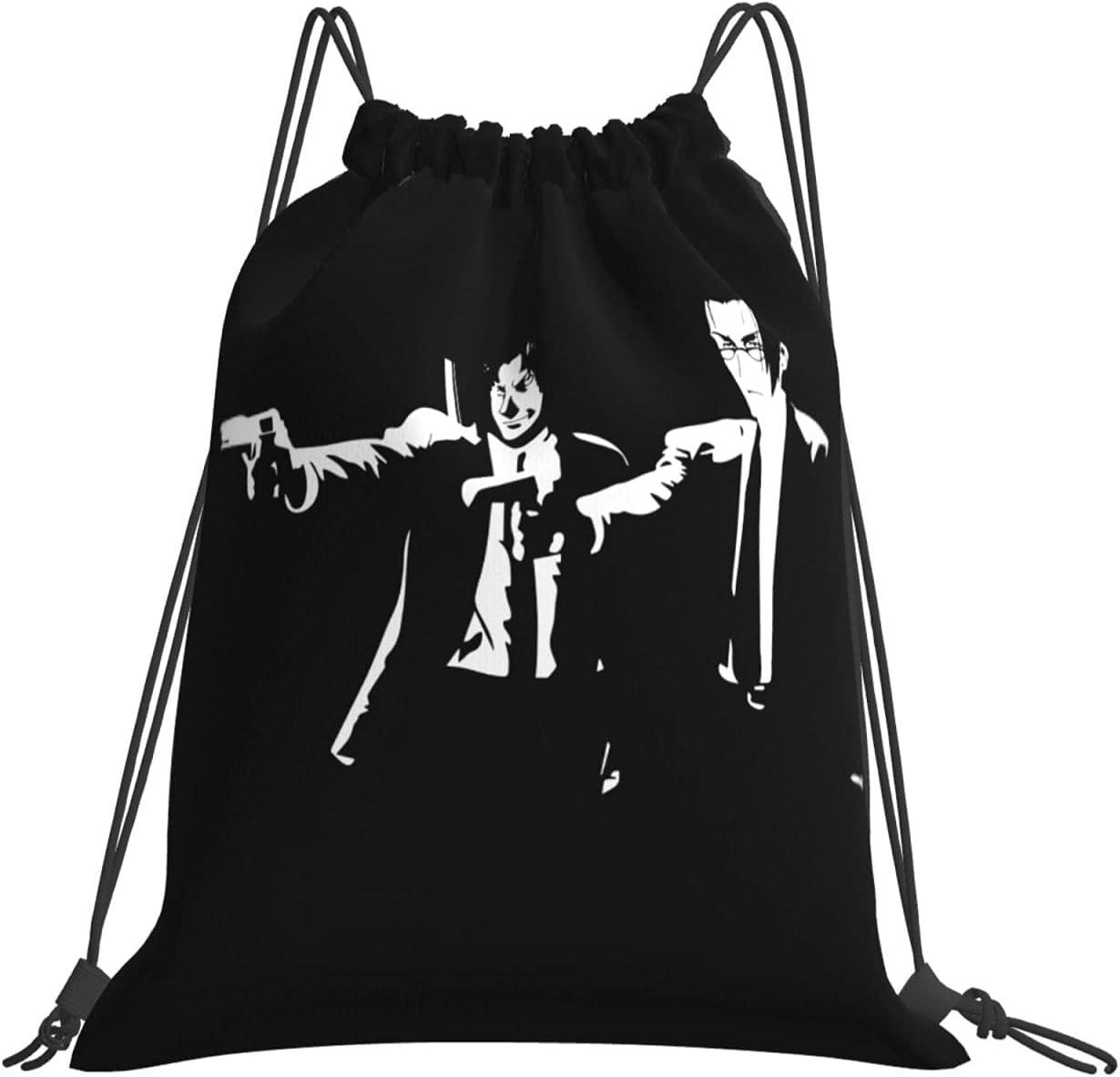 Wholesale Samurai Champloo Same day shipping Mugen Jin Drawstring H Water Backpack Resistant