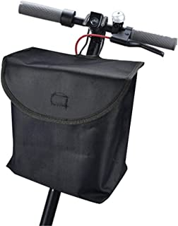 FOLOU Waterproof Bicycle Front Carrying Bag Storage,  Scooter Storage Bag for Xiaomi M365,  Electric Scooter Front Hanging Bag Durable Fit for Carring Charger Tools,  Compatible Electric Bicycle EF1