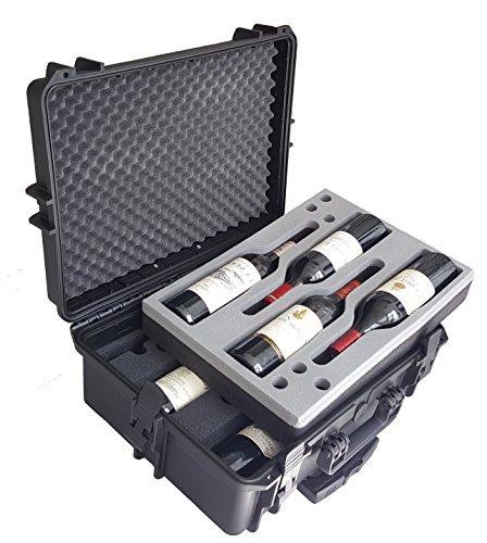 Estuche para vino - Maleta para vino - Mallette - Maletin - Cajón para vino - de MC-CASES