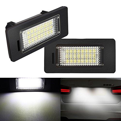 Preisvergleich Produktbild AMBOTHER® LED Kennzeichenbeleuchtung Auto Nummernschilder Licht E39 E60 E70 E90