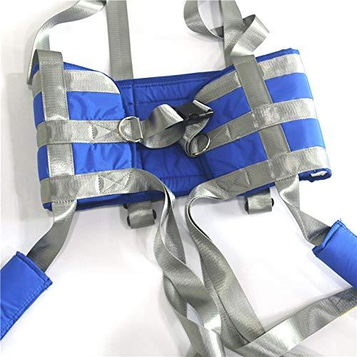 51NefzkSjRL - ZIHAOH Cabestrillo De Elevación De Paciente De Cuerpo Completo, Cinturón para Caminar Asistido por El Paciente, Las Piernas Se Pueden Separar, Seguridad De Enfermería