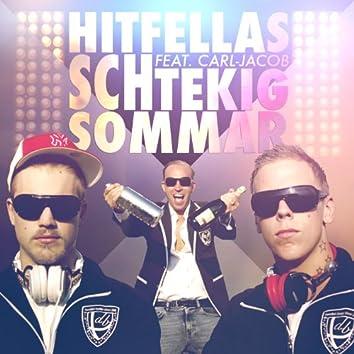 Schtekig sommar (feat. Carl-Jacob)