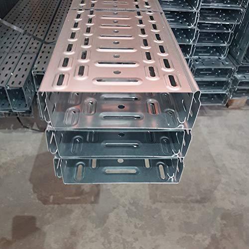 12 m Kabelrinne Kabelkanal mit integ.Verbinder Jupiter 60x200 mm Profiware von powerpreis24® …