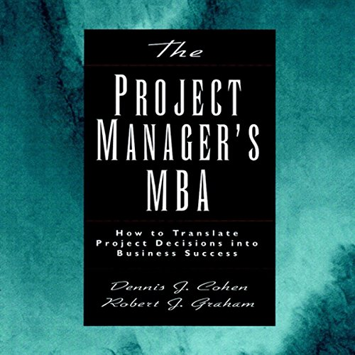 The Project Manager's MBA audiobook cover art