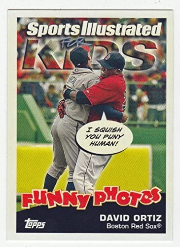 David Ortiz Dontrelle Willis Baseball Card 2006 Topps Opening Day Sports Illustrated For Kids product image