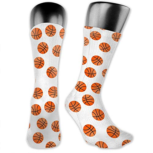 Drempad Luxury Calcetines Deporte Orange Basket Balls