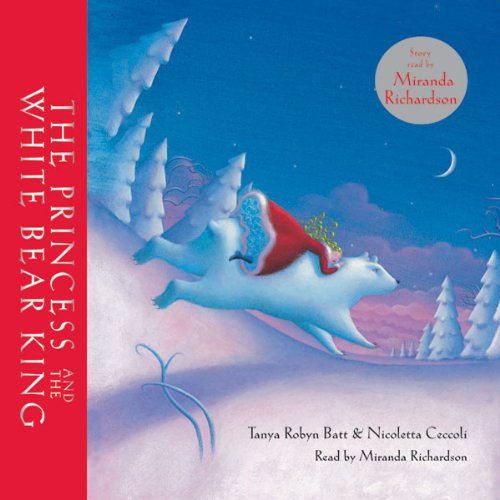 The Princess and the White Bear King audiobook cover art