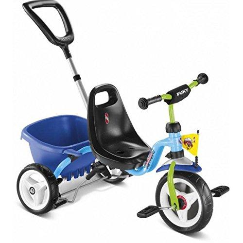 Puky 2226 Dreirad Cat 1 S, Hellblau/Kiwi