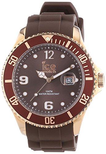 ICE-WATCH Herren-Armbanduhr XL Style brown Analog Quarz Silikon IS.BNR.B.S.13