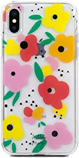 Ashley Mary Hard Shell iPhone Case | Size iPhone X/Xs | Transparent Vintage Blooms Design