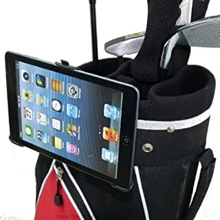 Golf Bag Clip Mount with Dedicated Holder for the Apple iPad MINI (sku 16016)