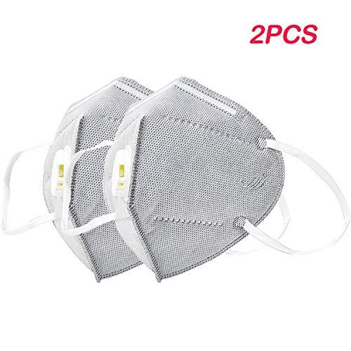 AIORNIY 2-teilig Staubdichte Gesichtsschutz Staub Winddichtes Atemschutzgerät für nebligen Dunst