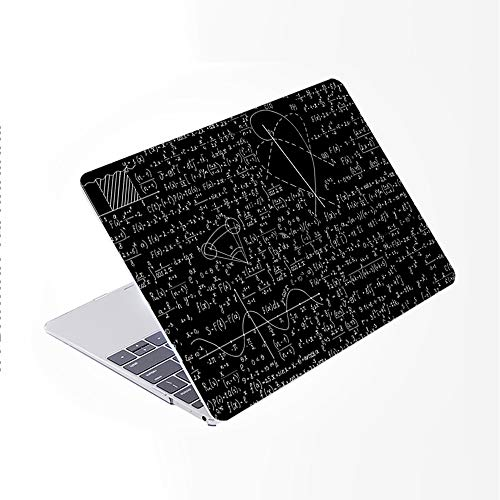 SDH for MacBook Air 13 Inch Case 2020 Release A2179 with Retina, Plastic Pattern Hard Shell & Laptop Sleeve Bag & Keyboard Cover for MacBook Air 13 with Touch ID, Blackboard Book 13
