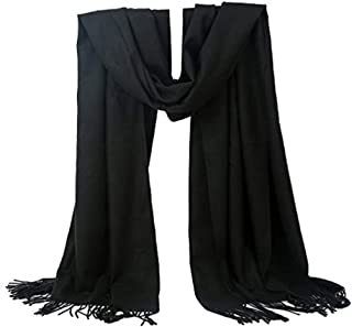 Classic Cashmere Feel Soft Warm Long Scarf For Winter Unisex